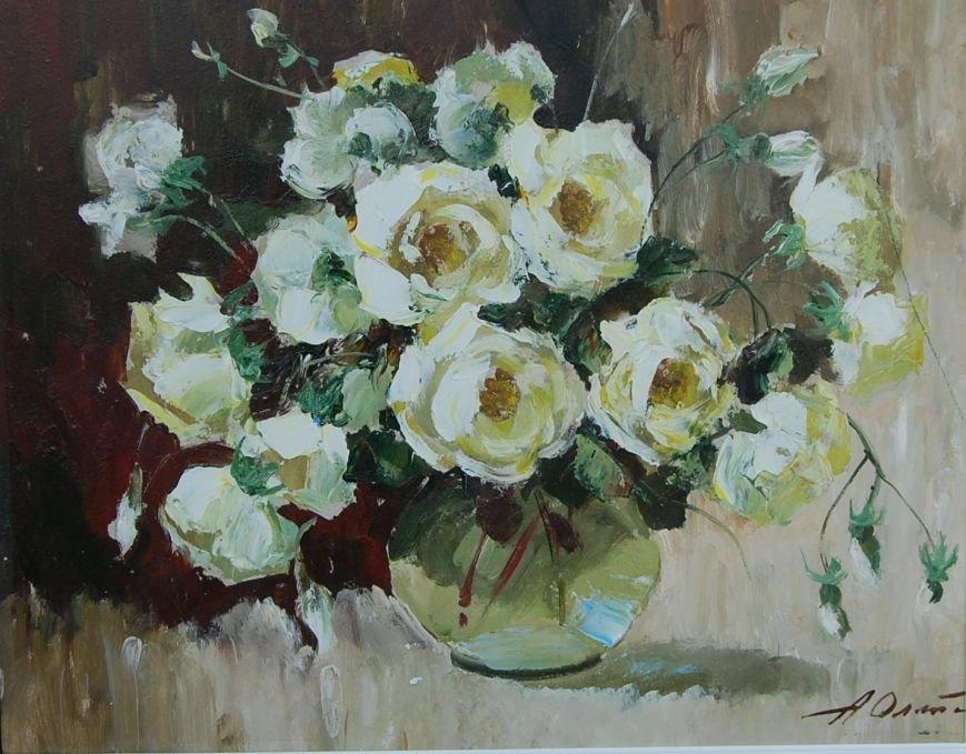 Чайные розы 40х49,5 (к.м)