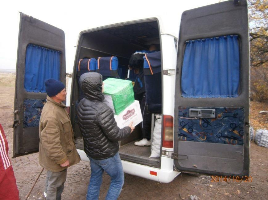 Криворожские волонтеры привезли помощь разведчикам 17 танковой и «проведали» БТР, который ремонтировали всем городом (ФОТО), фото-2