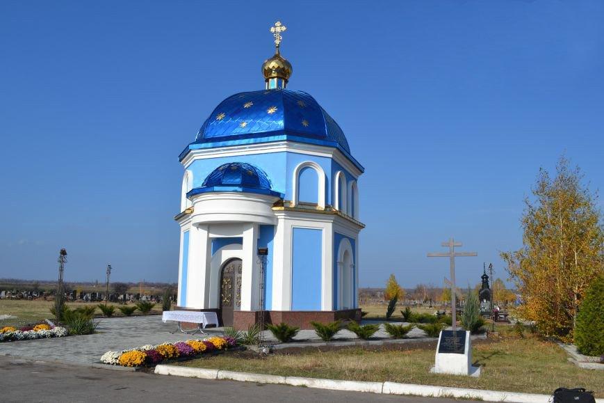В Димитрове освятили и установили Крест на храм, строительство которого инициировал Виталий Ключка, фото-2