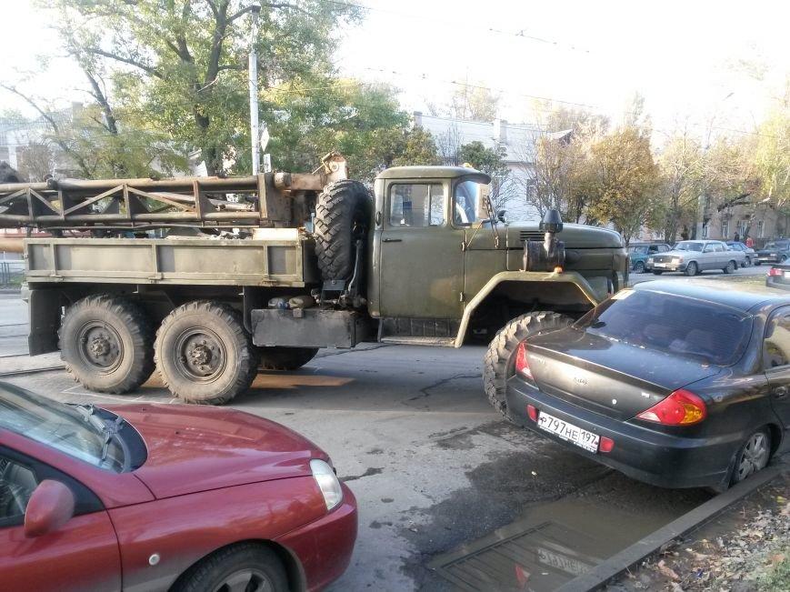 В Таганроге, на Б.Бульварной произошла авария (Фото), фото-1