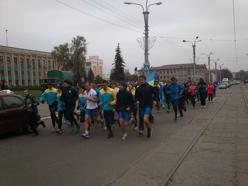 Днепродзержинцы бегут на левый берег, фото-3