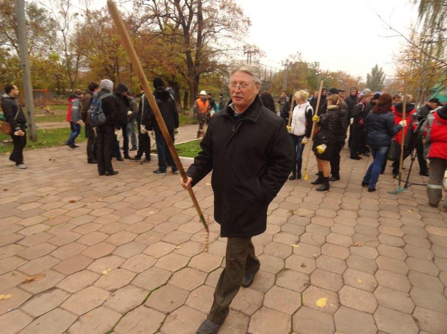 «Зеленый Центр Метинвест», металлурги и оппозиционные силы вышли на уборку Мариуполя (ФОТОРЕПОРТАЖ), фото-2