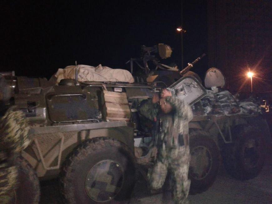 В Сумах встретили очередную группу пограничников, вернувшихся  из зоны АТО (ФОТО), фото-4