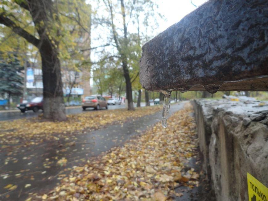 В Мариуполе образовался гололед (ФОТОФАКТ), фото-13