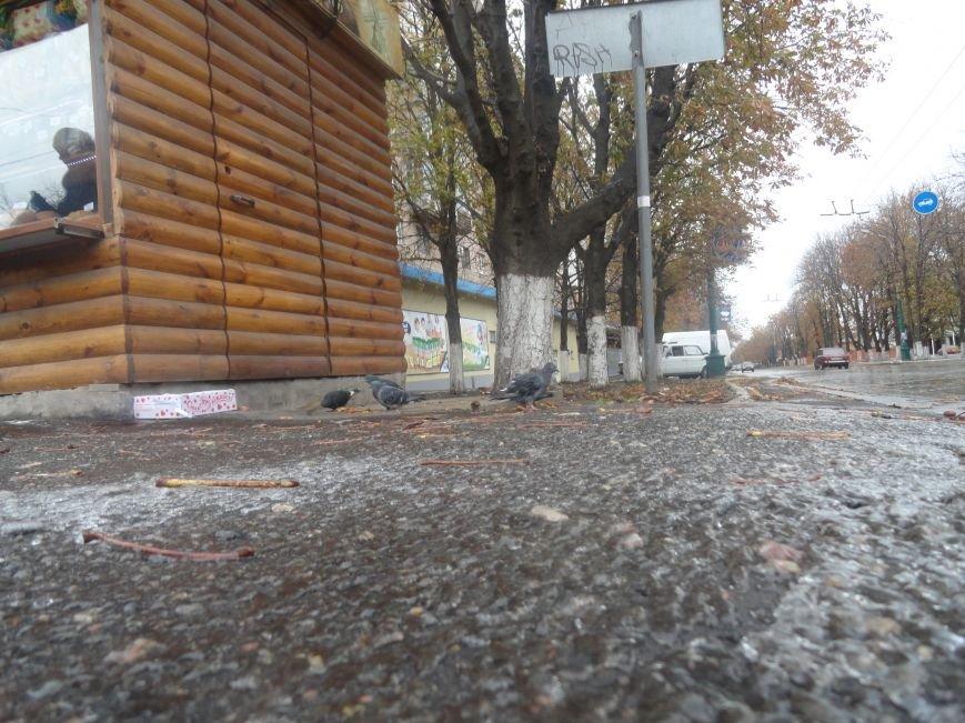 В Мариуполе образовался гололед (ФОТОФАКТ), фото-4