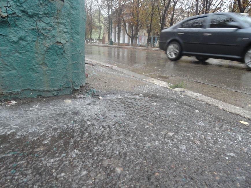 В Мариуполе образовался гололед (ФОТОФАКТ), фото-2