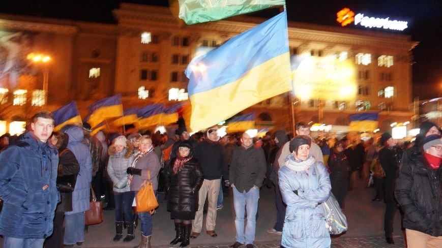 Марш «Последнего сопротивления старой власти» в Харькове: мусорные баки и сожжение агитационных листовок (фото+видео), фото-7
