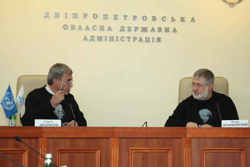 Днепропетровщина получит от ООН $2 млн на помощь переселенцам, фото-1