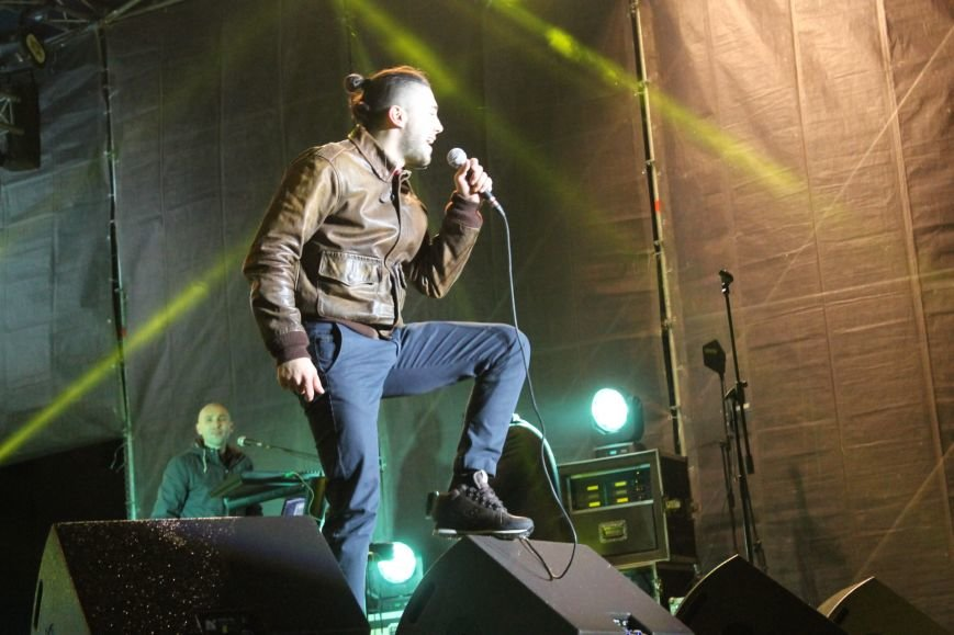 В Кривом Роге состоялась премьера песни Анастасии Приходько «Герої не вмирають!» (ФОТО), фото-9