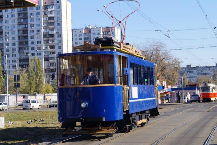 Парад трамваев в Киеве (ФОТОРЕПОРТАЖ), фото-1