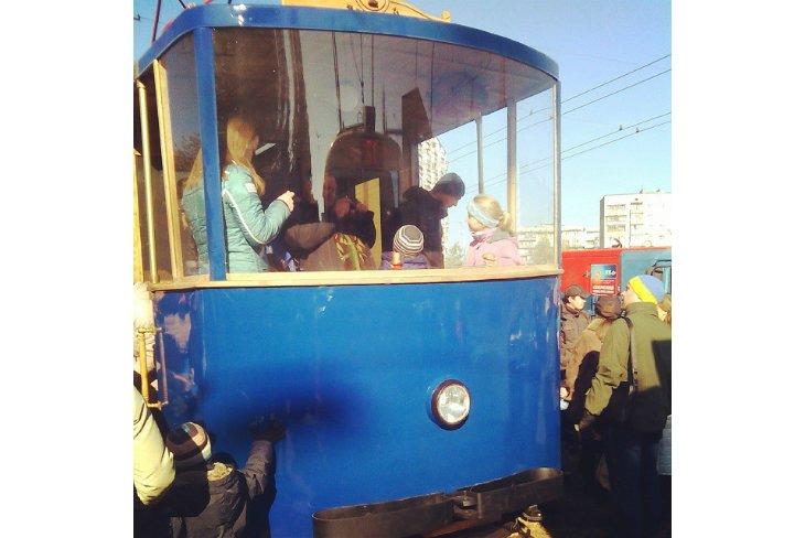 Парад трамваев в Киеве (ФОТОРЕПОРТАЖ), фото-11