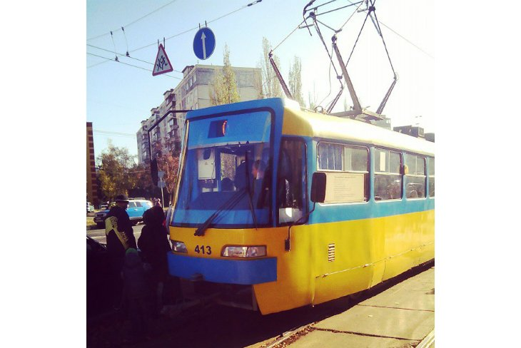 Парад трамваев в Киеве (ФОТОРЕПОРТАЖ), фото-17