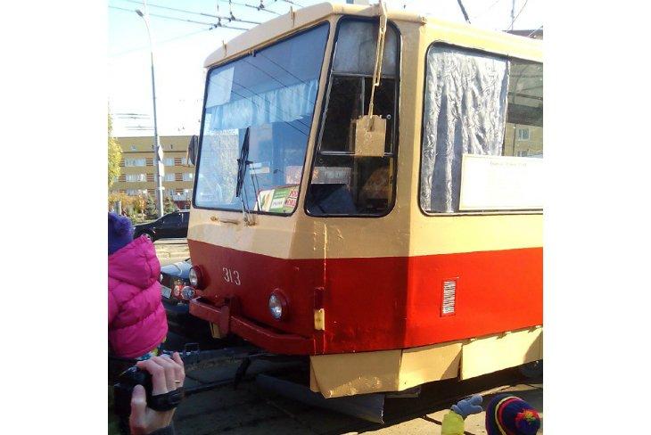 Парад трамваев в Киеве (ФОТОРЕПОРТАЖ), фото-16