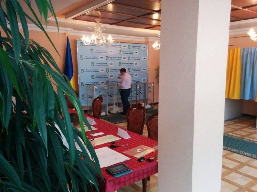 Фотофакт:  Мариупольцы проголосовали в Братиславе, фото-1