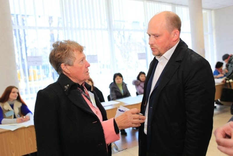 Сергій Каплін відвідав 62 виборчі дільниці в Полтаві, фото-3