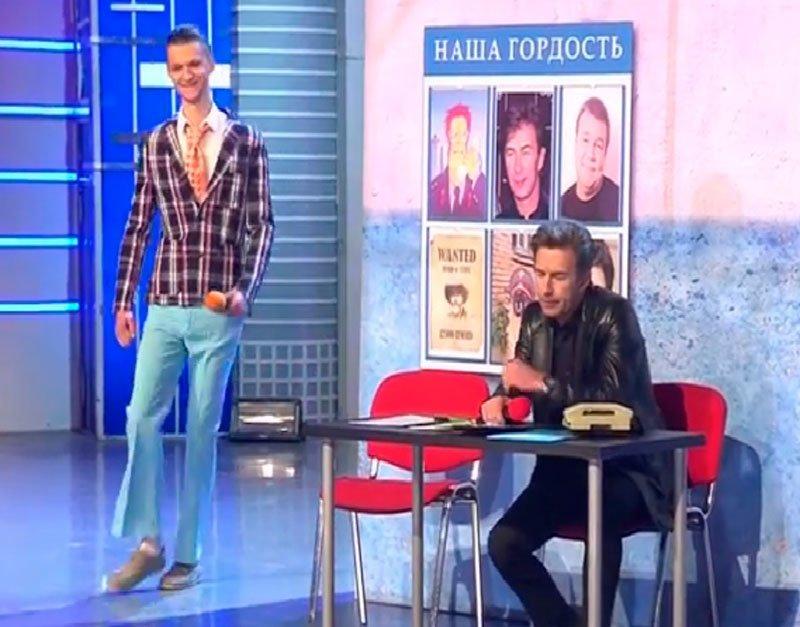 ДАЛС в полуфинале помогли сделать выступление Юлия Гусмана самым коротким в истории КВН (фото) - фото 1