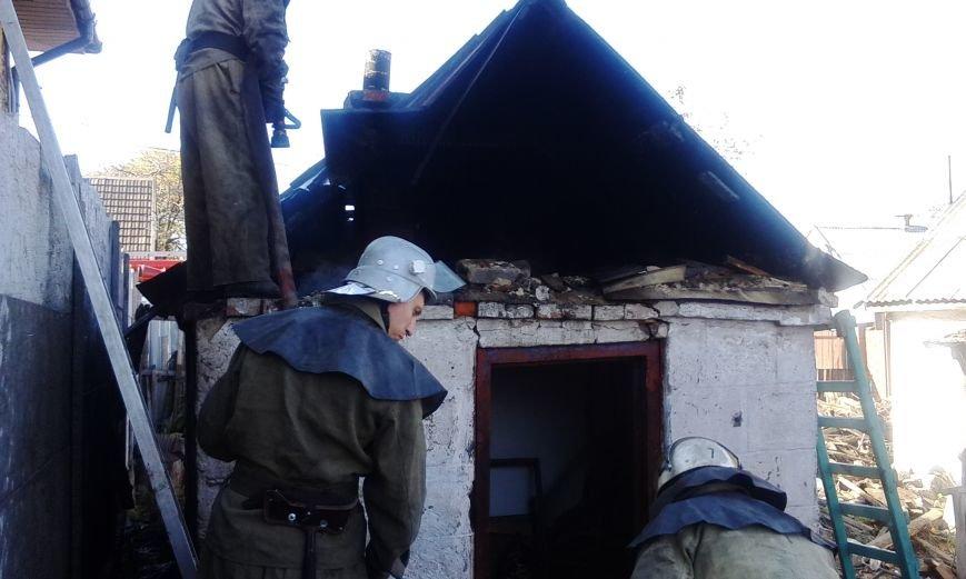 В частном секторе Днепродзержинска произошло 2 пожара, фото-6