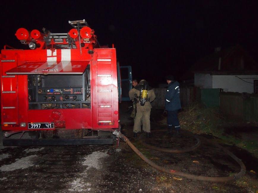 В частном секторе Днепродзержинска произошло 2 пожара, фото-1