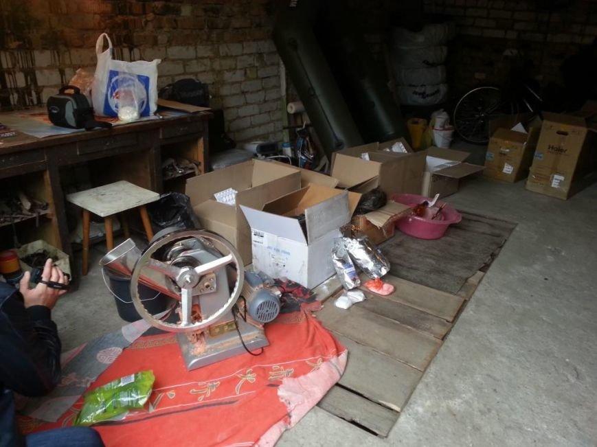 На Днепропетровщине СБУ ликвидировала  подпольную лабораторию в которой производили анаболики и медпрепараты для стран ЕС, фото-1