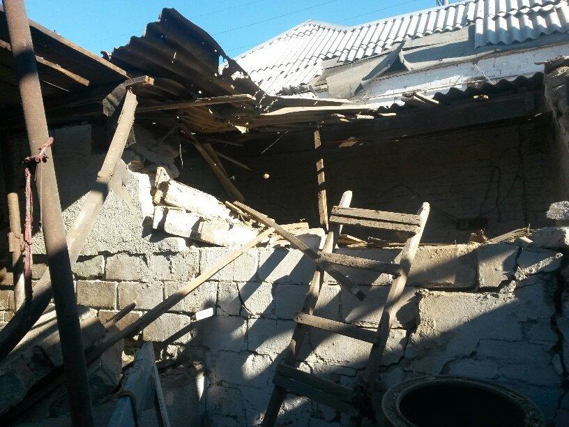 В результате обстрела жительница Талаковки попала в больницу (ФОТОРЕПОРТАЖ), фото-11