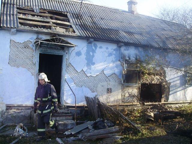 На Рівненщині внаслідок пожежі загинула бабуся (Фото), фото-1