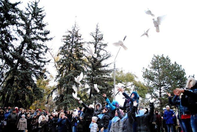 2014.10.24_ЦГОК_ПСП_Открытие мемориала_70 лет освобождения Украины (366)