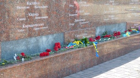 Мариупольцы отметили 70-летнюю годовщину освобождения Украины  (ФОТО), фото-1