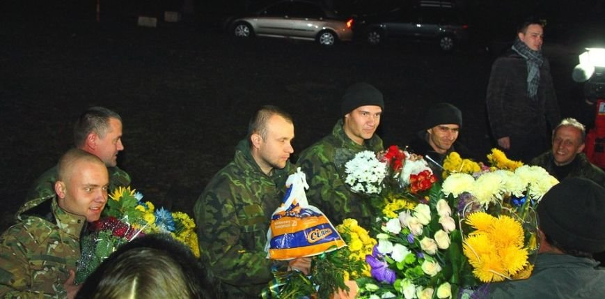 Четверо «киборгов», защищавших Донецкий аэропорт, вернулись домой в Кривой Рог (ФОТО), фото-1