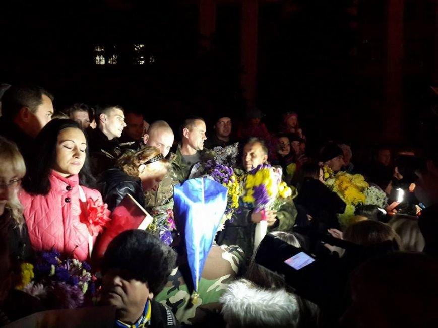 Четверо «киборгов», защищавших Донецкий аэропорт, вернулись домой в Кривой Рог (ФОТО), фото-3