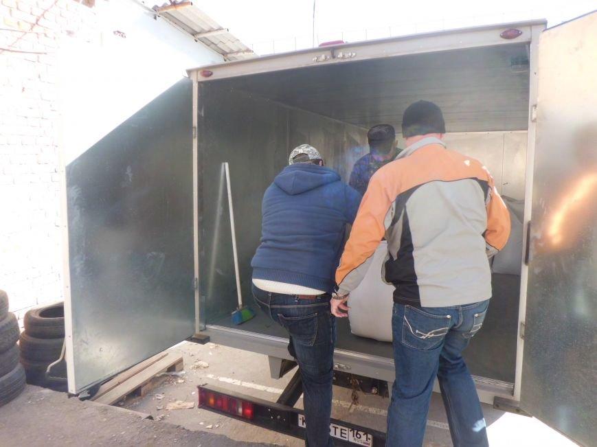 Очередная партия гуманитарной помощи отправилась из Таганрога в украинский Донецк, фото-5