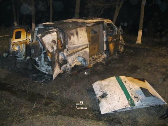 На границе Днепропетровской и Полтавской областей в инкассаторскую машину стреляли из гранатомета: есть погибшие, фото-2