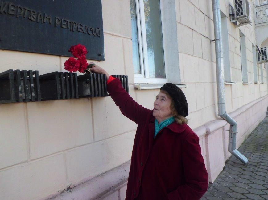 Сегодня в Таганроге состоялась акция, посвященная Дню памяти жертв политических репрессий (Фото)), фото-3