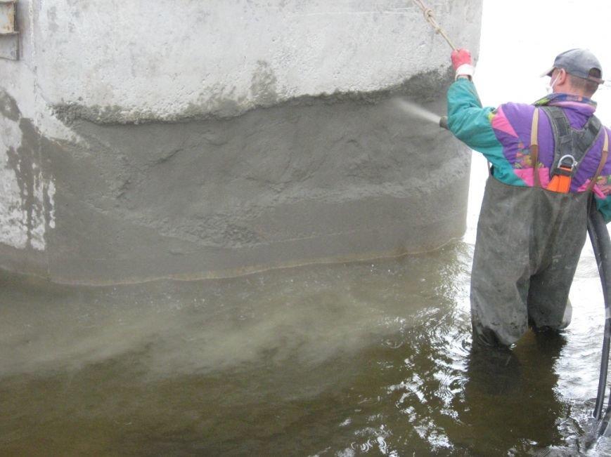 4Нанесення торкрет-бетону на пошкоджену ділянку