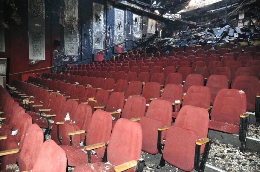 """Кинотеатр """"Жовтень"""" после пожара (ФОТОРЕПОРТАЖ), фото-12"""
