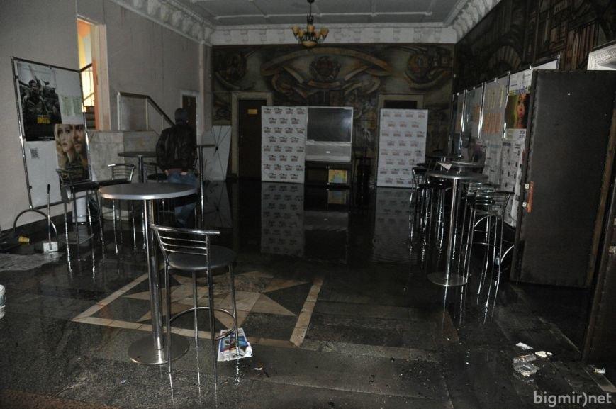 """Кинотеатр """"Жовтень"""" после пожара (ФОТОРЕПОРТАЖ), фото-7"""
