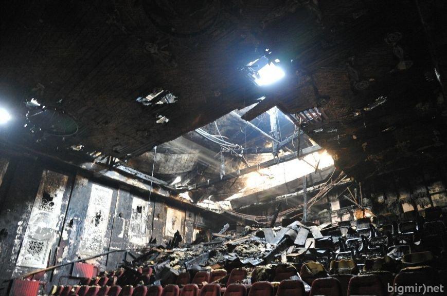 """Кинотеатр """"Жовтень"""" после пожара (ФОТОРЕПОРТАЖ), фото-3"""