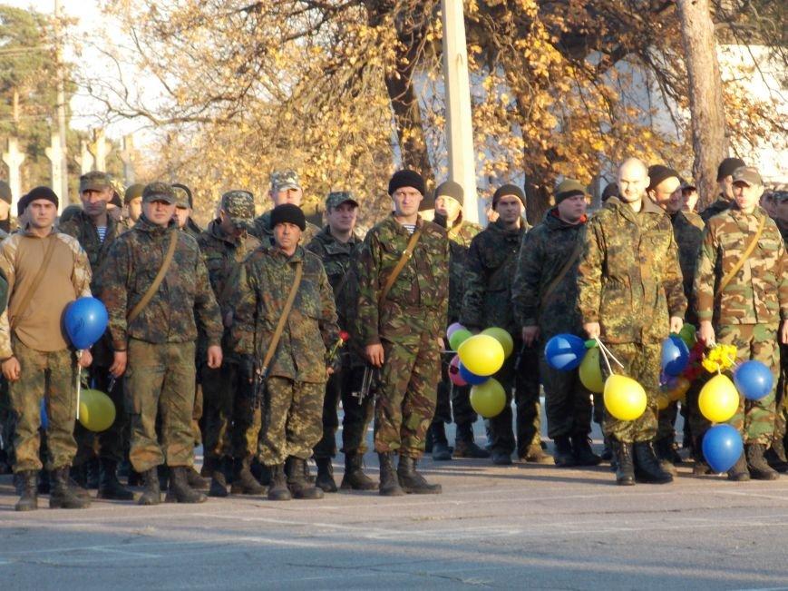 Как встречали 20-й мотопехотный батальон под Днепропетровском (ФОТОРЕПОРТАЖ), фото-1