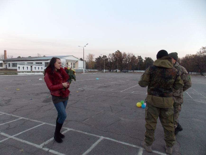 Как встречали 20-й мотопехотный батальон под Днепропетровском (ФОТОРЕПОРТАЖ), фото-3