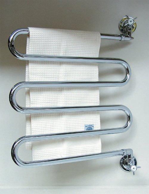 Удобный полотенцесушитель для ванной