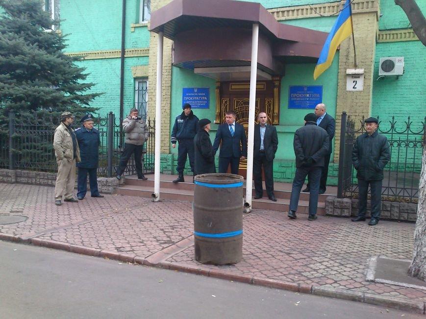В Днепродзержинске Правый Сектор предупредил прокуратуру, что «работать по старому» им не дадут, фото-2