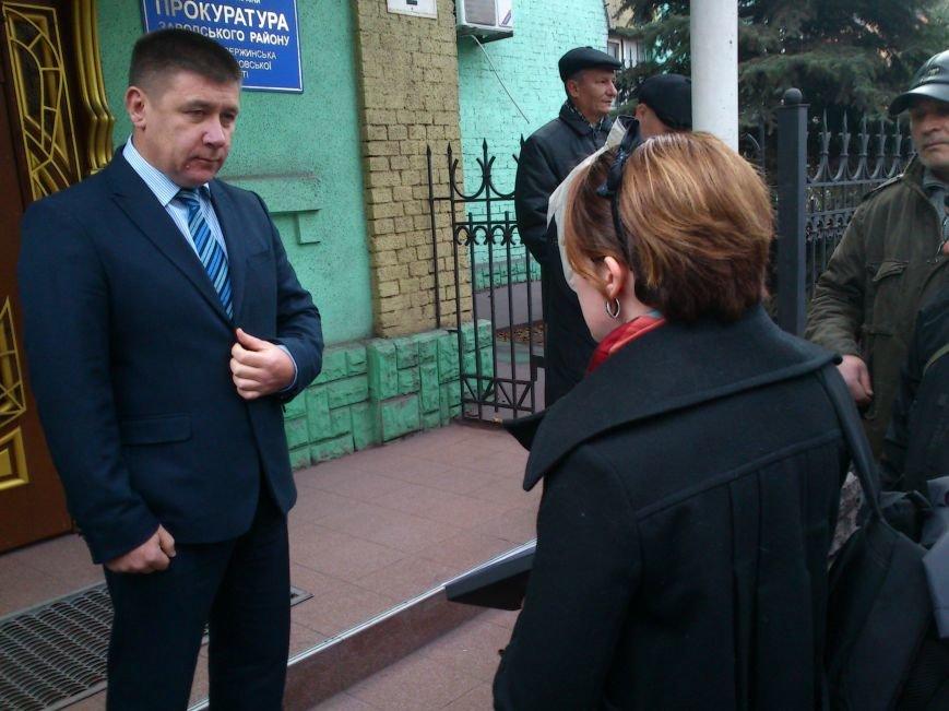 В Днепродзержинске Правый Сектор предупредил прокуратуру, что «работать по старому» им не дадут, фото-6