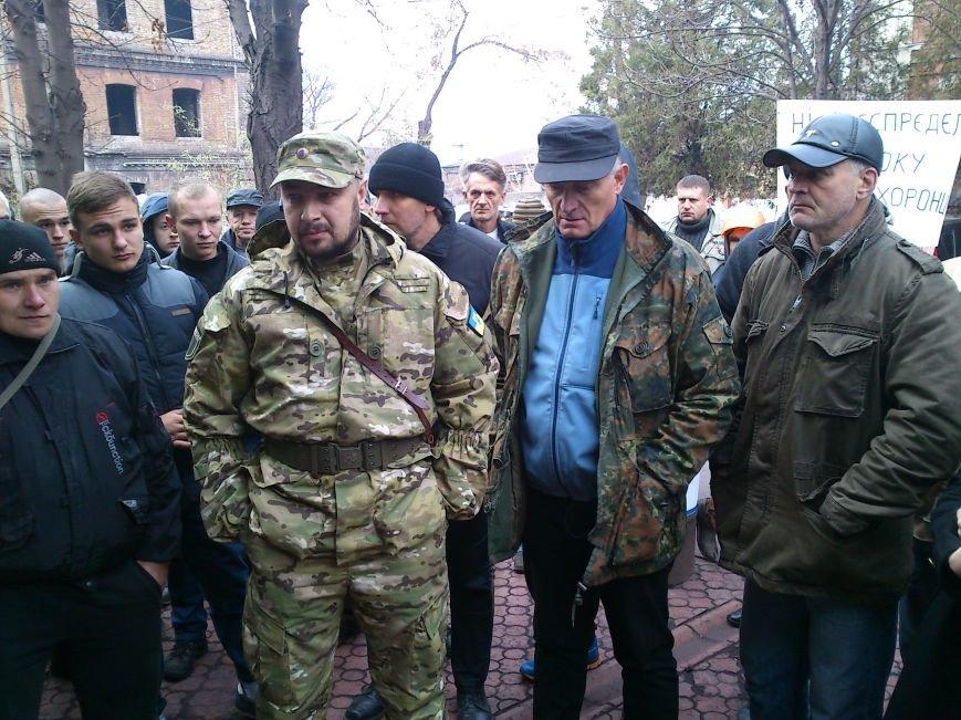 В Днепродзержинске Правый Сектор предупредил прокуратуру, что «работать по старому» им не дадут, фото-1