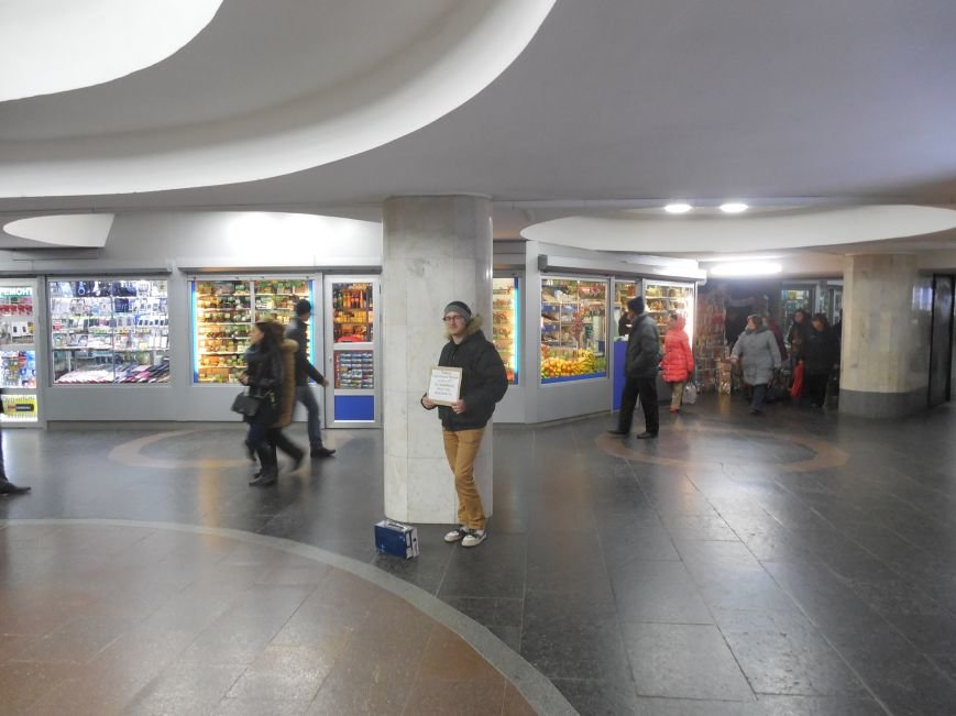 Социальный эксперимент: как мы в переходе метро собирали деньги для бойцов АТО (ФОТО), фото-3