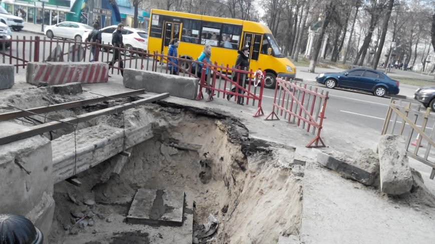 Тепловики  на следующей неделе зароют ямы в центре Сум (ФОТО), фото-2