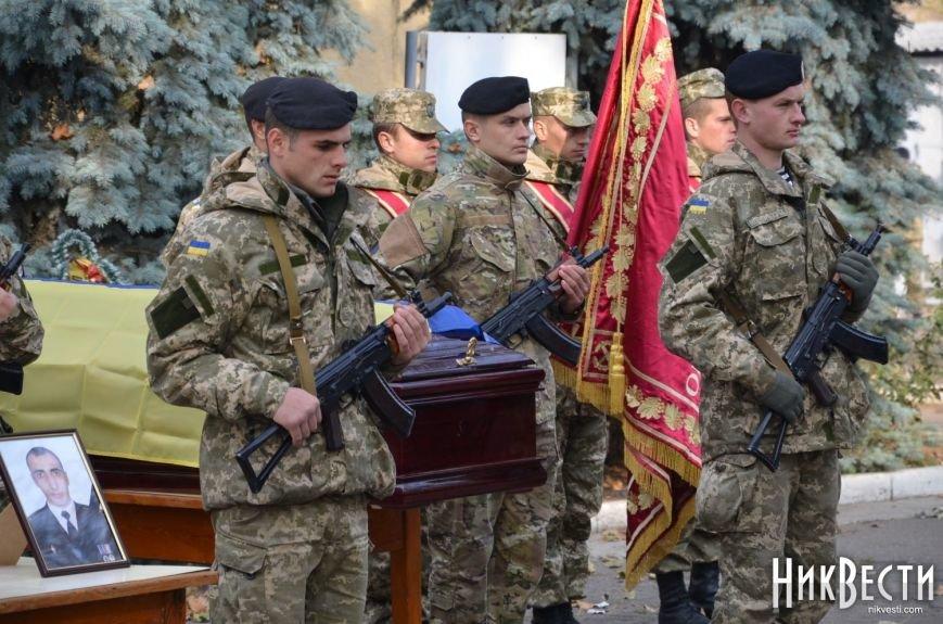 Николаев простился с морпехом, погибшим в Мариуполе (ФОТО+ВИДЕО), фото-9