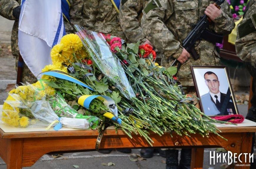 Николаев простился с морпехом, погибшим в Мариуполе (ФОТО+ВИДЕО), фото-8