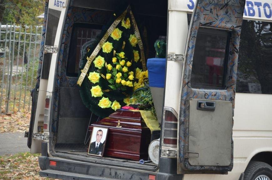 Николаев простился с морпехом, погибшим в Мариуполе (ФОТО+ВИДЕО), фото-14