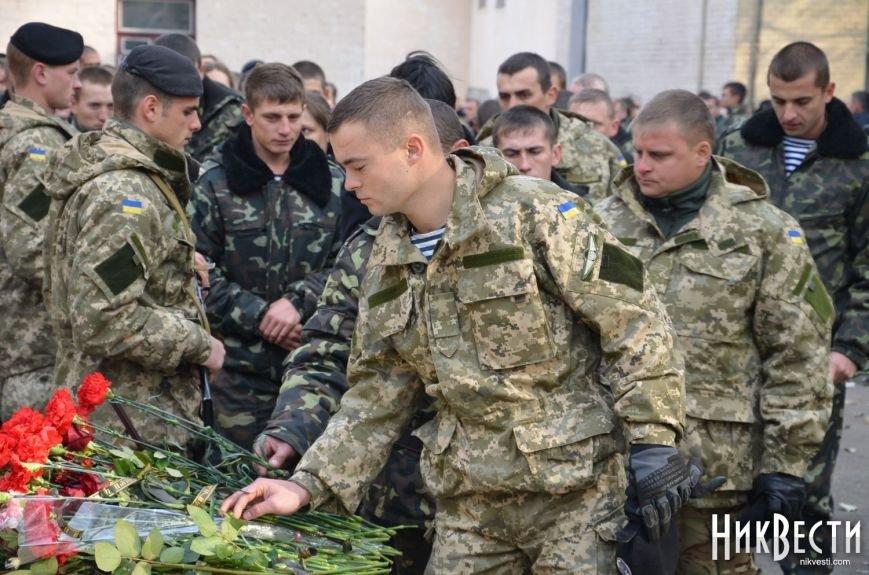Николаев простился с морпехом, погибшим в Мариуполе (ФОТО+ВИДЕО), фото-4