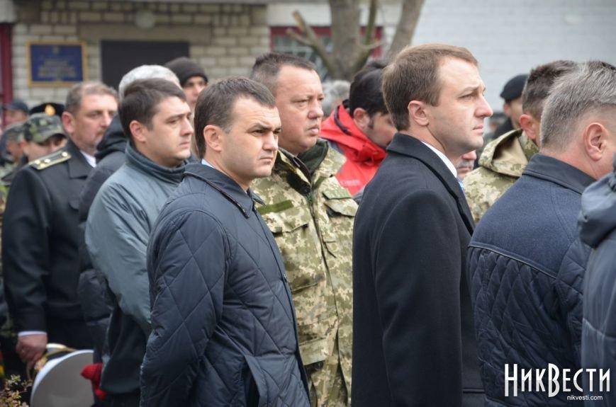 Николаев простился с морпехом, погибшим в Мариуполе (ФОТО+ВИДЕО), фото-5