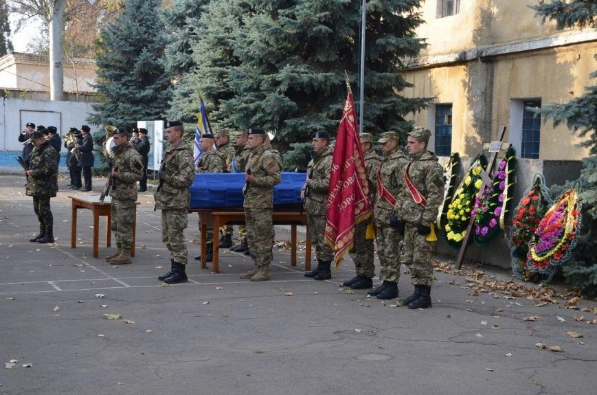 Николаев простился с морпехом, погибшим в Мариуполе (ФОТО+ВИДЕО), фото-2
